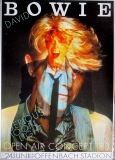 BOWIE, DAVID - 1983 - Plakat - Günther Kieser - Poster - Offenbach