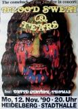 BLOOD SWEAT & TEARS - 1990 - Plakat - Günther Kieser - Poster - Heidelberg