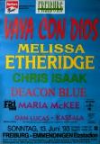 FREIBURG OPEN AIR - 1993 - Konzertplakat - Vaya Con Dios - Etheridge - Poster