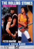 ROLLING STONES - 1982-07-05 - Plakat - European Tour - Poster - Köln