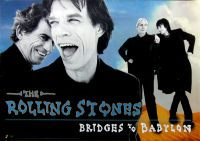 ROLLING STONES - 1997-00-00 - Promoplakat - Bridges to Babylon - Poster