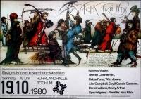 FOLK FRIENDS - 1980 - Plakat - Wader - Finbar & Furey - Lämmerhirt - Poster