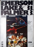 EMERSON LAKE & PALMER - 1973 - Plakat - Günther Kieser - Poster - Düsseldorf