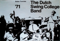 DUTCH SWING COLLEGE BAND - 1971 - Tourplakat - Bäder - Tourposter - A