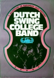 DUTCH SWING COLLEGE BAND - 1977 - Tourplakat - Bud Freeman - Tourposter