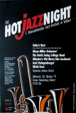 HOT JAZZ NIGHT 1. - 1991 - Konzertplakat - Jazz - Zwingenberger - Velbert