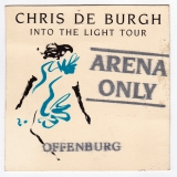 DE BURGH, CHRIS - 1986 - Pass - Into the Light - Arena Only - Offenburg