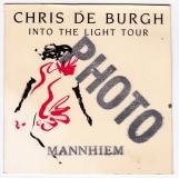 DE BURGH, CHRIS - 1986 - Pass - Into the Light - Photo - Mannheim