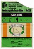 DEUTSCHLAND - UDSSR - 1978 - Eintrittskarte - Fussball - Ticket - Frankfurt