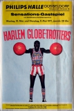 HARLEM GLOBETROTTERS - 1971 - Plakat - Basketball - Poster - Düsseldorf
