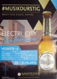 ELECTRI CITY - 2015 - Plakat - Heaven 17 - Daniel Miller - Poster - Düsseldorf