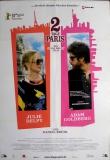 2 TAGE PARIS - 2007 - Filmplakat - Delpy - Brühl - Goldberg - Poster