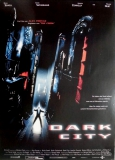 DARK CITY - 1998 - Filmplakat - Kiefer Sutherland - William Hurt - Poster