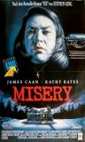 MISERY - 1990 - Filmplakat - Kathy Bates - James Caan - Poster
