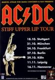 AC/DC - ACDC - 2000 - Plakat - In Concert - Stiff Upper Lip Tour - Poster