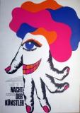 NACHT DER KÜNSTLER - 1973 - Plakat - Fashing - Poster - München