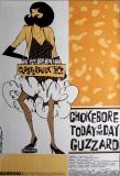 CLUSTERFUCK - 1994 - Tourplakat - Chokebore - Guzzard - Today is... - Tourposter