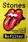ROLLING STONES - 2017-10-09 - Plakat - No Filter - Poster - Düsseldorf