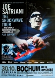 SATRIANI, JOE - 2015 - Tourplakat - Shockwave - Tourposter - Bochum - SIGNED