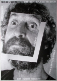 DAS ZWEITE GESICHT - 1989 - Plakat - Ausstellung - Günther Kieser - Poster