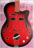 JAZZ FEST BERLIN - 2000 - Plakat - Günther Kieser - Poster