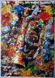 JAZZ FESTIVAL FRANKFURT - 1994 - Plakat - Günther Kieser - Poster