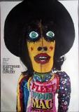 FLEETWOOD MAC - 1970 - Plakat - Günther Kieser - Poster