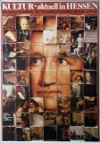 KULTUR AKTUELL - Plakat - Hessischer Rundfunk - Günther Kieser - Poster