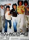 ROLLING STONES - 1976-05-03 - Plakat - European Tour - Poster - Berlin