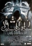 CHILDREN OF BODOM - 2017 - Tourplakat - 20 Years Down & Dirty - Tourposter