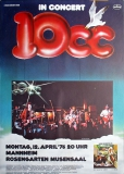 TEN CC - 10CC - 1976 - Konzertplakat - How Dare You - Tourposter - Mannheim