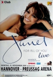 JACKSON, JANET - 2001 - Konzertplakat - For all of You - Tourposter - Hannover
