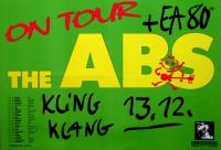 ABS, THE - EA 80 - 1990 - Konzertplakat - Nail it.. - Tourposter - Wilhelmshaven