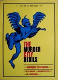 MURDER CITY DEVILS - XXXX - Konzertplakat - Concert - Poster - Vera - Groningen