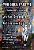LOS ASS-DRAGGERS - 1997 - Konzertplakat - Concert - Poster - Vera - Groningen