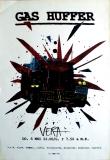 GAS HUFFER - 1993 - Konzertplakat - Concert - Poster - Vera - Groningen