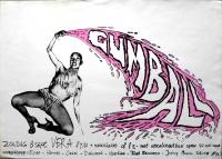 GUMBALL - 1991 - Konzertplakat - Concert - Poster - Vera - Groningen