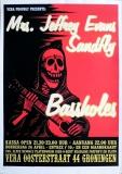 BASSHOLES - 2001 - Konzertplakat - Concert - Poster - Vera - Groningen