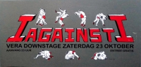 I AGAINST I - 1999 - Konzertplakat - Concert - Poster - Vera - Groningen