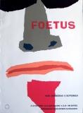 FOETUS - THIRLWELL - 2001 - Konzertplakat - Concert - Poster - Vera - Groningen