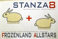 STANZA 8 - 2000 - Konzertplakat - Concert - Poster - Vera - Groningen