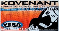 KOVENANT - 2000 - Konzertplakat - Zeromancer - Poster - Vera - Groningen