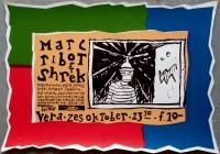 RIBOT, MARC & SHREK - 1994 - Konzertplakat - Concert - Poster - Vera - Groningen