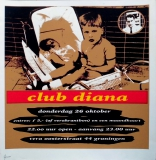 CLUB DIANA - 2000 - Plakat - Party - Poster - Vera - Groningen