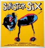 SINISTER SIX - 1994 - Konzertplakat - Concert - Poster - Vera - Groningen