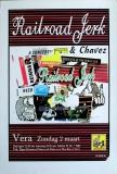 RAILROAD JERK - 1996 - Konzertplakat - Concert - Poster - Vera - Groningen