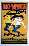 HALF JAPANESE - 1995 - Konzertplakat - Concert - Poster - Vera - Groningen