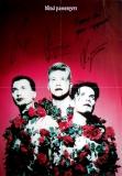 BLIND PASSENGERS - 1995 - Promoplakat - Destroyka - Poster - Autogramme