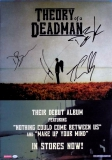 THEORY OF A DEADMAN - 2002 - Promoplakat - Poster - plus Autogramme B
