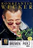 WECKER, KONSTANTIN - 1996 - Konzertplakat - Gamsig - Tourposter - Autogramm